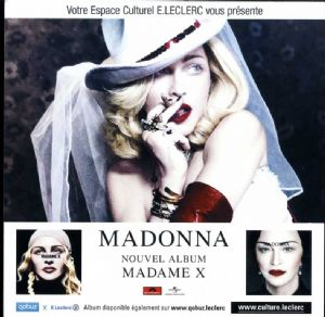 MADAME X - FRANCE IN-STORE PROMO DISPLAY BOARD
